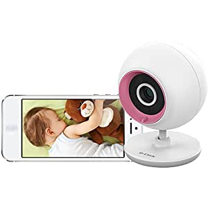 D-Link DCS-700L Wireless Day/Night Baby Monitor Camera With Audio And Remote Viewing