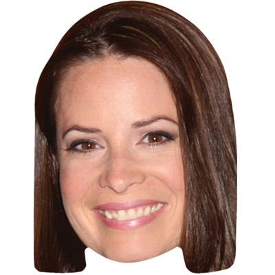 Celebrity Cutouts Holly Marie Combs Maske aus Karton