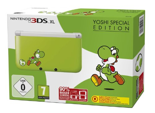 Nintendo 3DS XL - Konsole Yoshi Special Edition (3ds Xl Konsole Limited Edition)