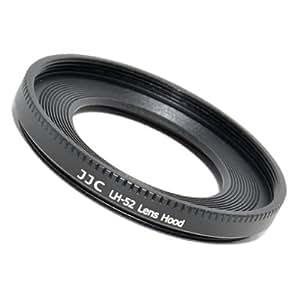 Gegenlichtblende LH-52 (Streulichtblende, Sonnenblende) für Canon EF 40mm f/2.8 STM ersetzt CANON ES-52 (made by JJC)