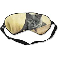 Eye Mask Eyeshade Cat Wear Glass Sleep Mask Blindfold Eyepatch Adjustable Head Strap preisvergleich bei billige-tabletten.eu