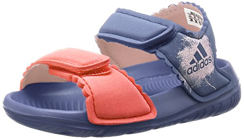 adidas Unisex Baby Altaswim Sandalen, Violett (Super Purple/Haze Coral/Easy Coral), 26 EU