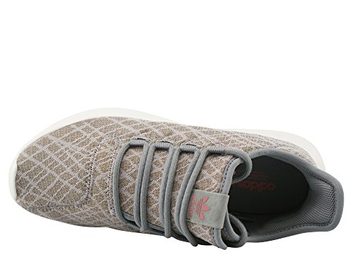 adidas Damen Tubular Shadow Sneakers Grau (Ch Solid Grey/ch Solid Grey/raw Pink)