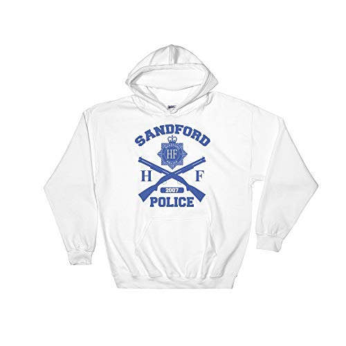 Meta Cortex Hot Fuzz - Sandford Police Cornetto Trilogy Movie Hoodie Kapuzenpullover - Fuzz-t-shirt Hot