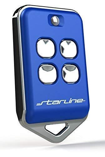STARLINE Radiocomando Marca Modello BM4 Compatibile con radiocomandi di Marca BFT, Modelli:TRC1, TRC2,TRC4 MITTO2, MITTO4, B RCB02 , BRCB04. (Blu)