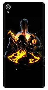 Kizil ™ Designer Printed Back Case Cover for Sony Experia XA