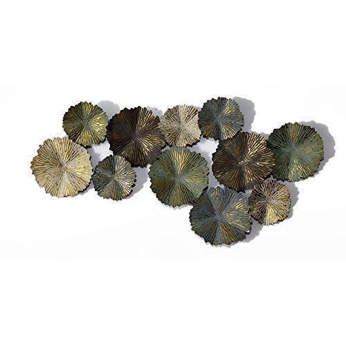 Inhouse - Círculos Quemador Sol Acabado Mate, Metal