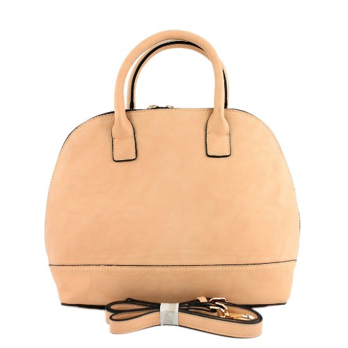 Handtasche Damentasche Tragetasche Damen Kunstledertasche Lederimitat LK9938 Beige