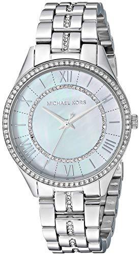 Michael Kors Damen Analog Quarz Uhr mit Edelstahl Armband MK3900