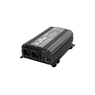 Alca Power–Wechselrichter 1000W 12V Reine MAX 2000W AC 230V USB Solar Wohnmobil Caravan–irp1000–12