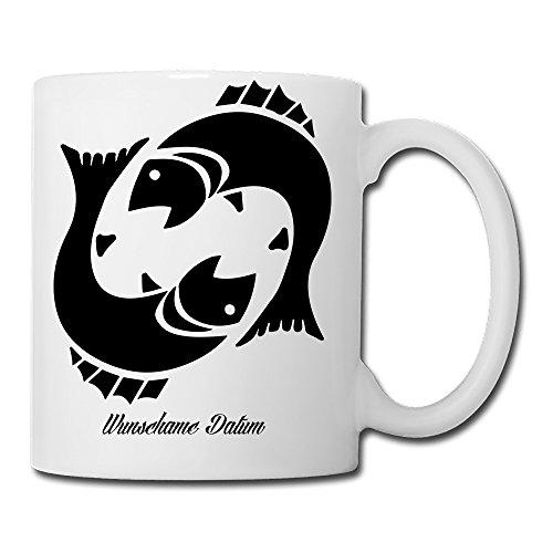 41hi4jT5ZvL Sternzeichen Fische Kaffeetasse Becher Tasse