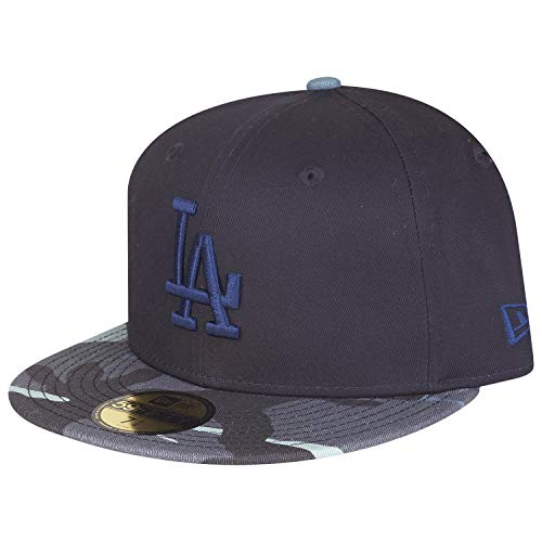 New Era 59Fifty Fitted Cap - Los Angeles Dodgers Navy camo - Navy Fitted Cap