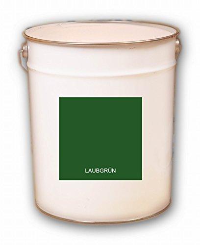 10 Liter grün Laubgrün Acryl Dachfarbe Dachanstrich Ziegelfarbe Dachbeschichtung Metalldach Blechdach Acrylat Basis