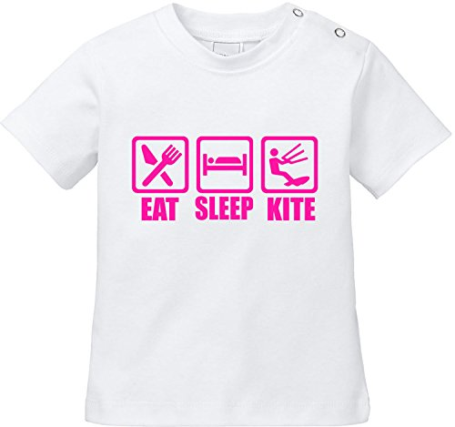 EZYshirt® Eat Sleep Kite Baby T-Shirt