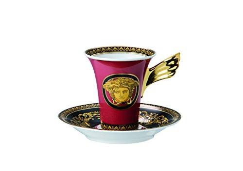 Rosenthal Versace Medusa Kaffeetasse 2tlg. Rosenthal Versace Medusa