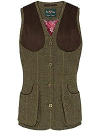 c8a9e69b4c8ba Alan Paine Combrook Ladies Shooting Waistcoat - Heather