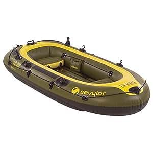 Sevylor fish hunter 4 person inflatable boat for Sevylor fish hunter 360