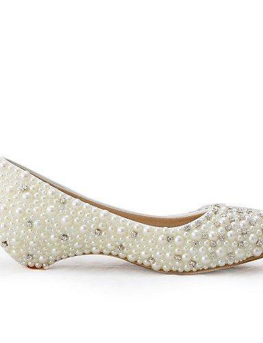 WSS 2016 Chaussures de mariage-Beige-Mariage / Habillé / Soirée & Evénement-Compensées-Talons-Homme under 1in-us7.5 / eu38 / uk5.5 / cn38