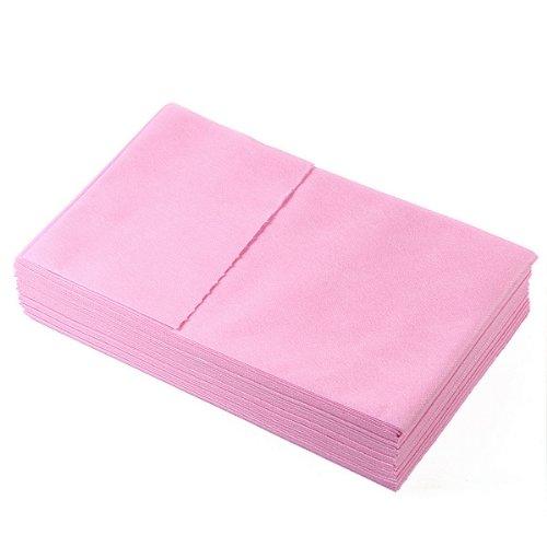 Wasser-tisch-massage (10Blatt 180,3x 78,7cm Einweg Wasser Proof Massage Bett flach Tisch Deckblatt j8006, rose)