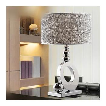 Stylish minimalist luxury crystal table lamp bedroom bedside lamp ...