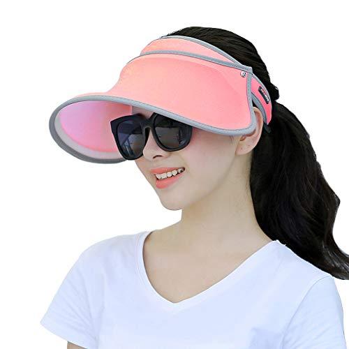 UHAoo Süßigkeit-Farben-Unisex Cap Verstellbare Lauf Tennis Golf leeren Top Schirmmütze Frauen Sonnenschutz Hüte Outdoor Sports
