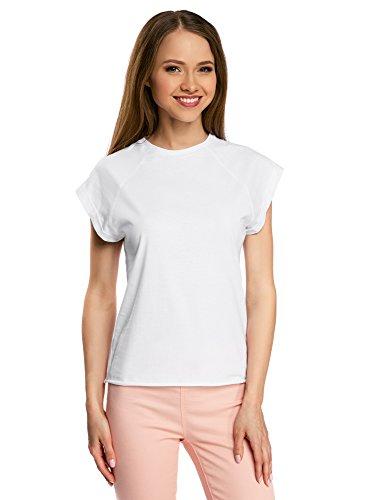 oodji Ultra Donna T Shirt Cotone