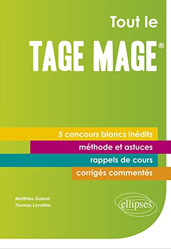 Tout le Tage-Mage® 5 Concours Blancs In...