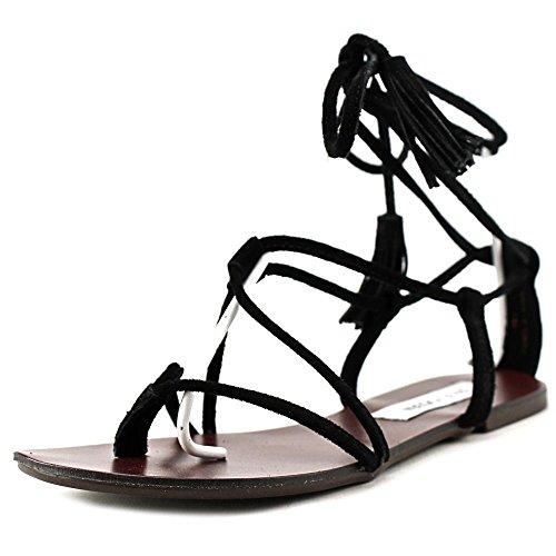 steve-madden-saleena-femmes-us-7-noir-sandales-gladiateur