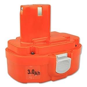 KooPower®18V 3Ah Batterie pour Makita 1834 1835 193102-0 193061-8