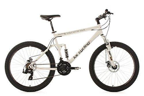 "KS Cycling Insomnia VTT semi rigide Blanc 26"""
