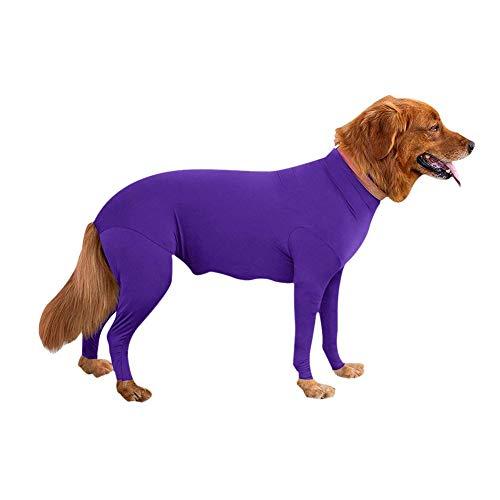 Hongyuangl Hund Strampler/Pflege Recovery Suit Jumpsuit Haustier Bodys Overall für Hunde (Jumpsuits Hunde Für)
