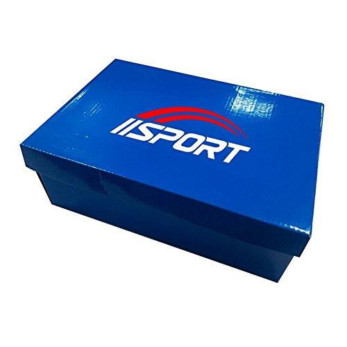 iisport- 7 Led Colorati Scarpe Sportive Unisex da Donna Uomo Sneaker Sport Sneaker Tennis Regali Originali Ragazza Party Festa Discoteca Rosa