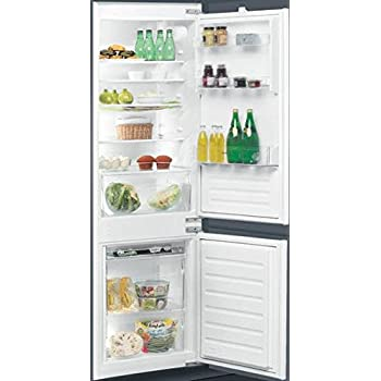 Ignis ARL 6501/A+ Built-in 275L A+ Stainless steel fridge-freezer - Fridge-Freezers (275 L, ST-T, 35 dB, 3.5 kg/24h, A+, Stainless steel)