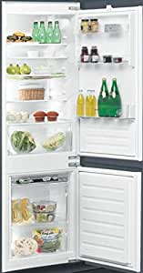 Ignis ARL 6501/A+ Built-in 275L A+ Stainless steel fridge-freezer - fridge-freezers (Built-in, Stainless steel, Right, Glass, 275 L, 277 L)