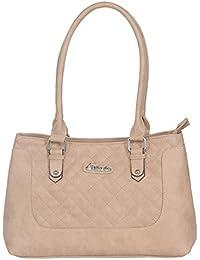 ESBEDA ladies Hand Bag Beige color (SH210716_1432)