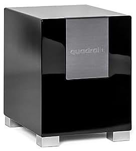 quadral qube 10 aktiv active subwoofer 280w schwarz. Black Bedroom Furniture Sets. Home Design Ideas