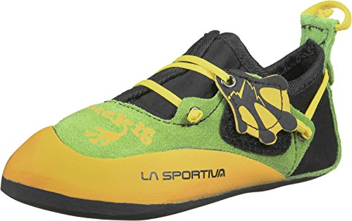 La Sportiva Stickit Kinderkletterschuhe Yellow/Green/Black