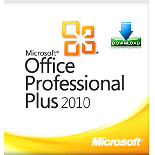 Microsoft Office 2010 Professional Plus - 1PC (Product Key mit Datenträger USB-Stick) für 32/64-Bit Amazon Prime Versand (Office Microsoft 64-bit 2010)