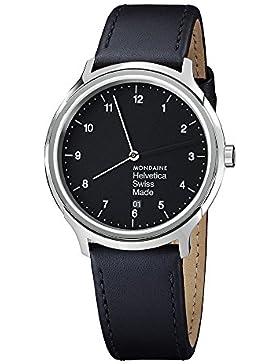 M-WATCH Unisex-Armbanduhr Helvetica No1 Regular 40mm Analog Quarz MH1.R2220.LB