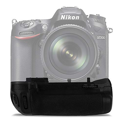 Cellonic MB-D15 Impugnatura/Presa Batteria Compatibile con Nikon D7100, Nikon D7200 Presa Verticale, Battery Grip