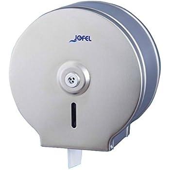 Jofel AE21000 Clásica Portarrollos, Inox, 300 m