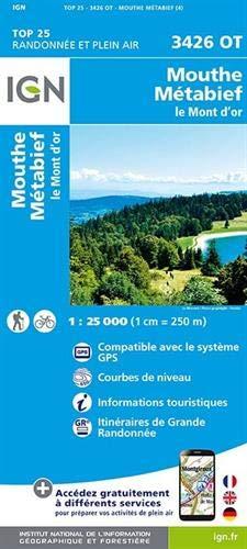 3426OT MOUTHE, METABIEF, LE MONT D'OR / RECTO par COLLECTIF
