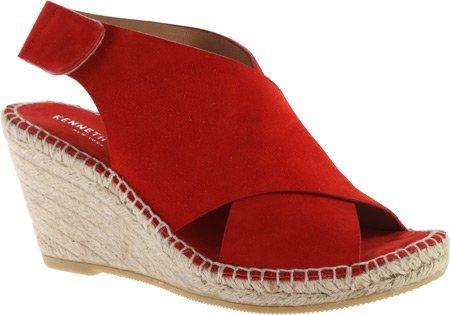 kenneth-cole-new-york-damen-sandalen-rot-tomato-suede-grosse-42