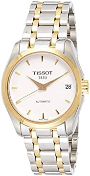 Tissot Women's White Stainless Steel Band Watch - T035.207.22.01