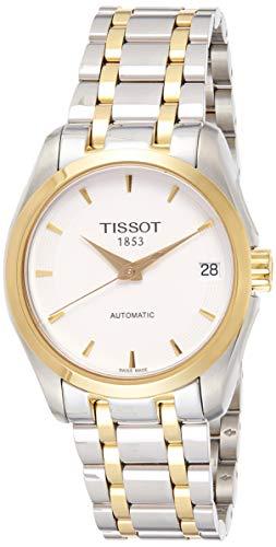 Tissot Orologio Analogico Automatico Donna con Cinturino in Acciaio Inox T035.207.22.011.00