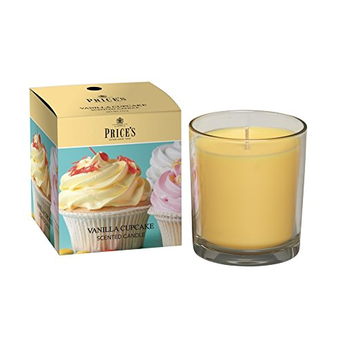 Prices Bougie en Pot parfumée Cupcake Vanille Psj010618