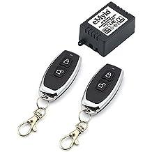 emylo® DC 12V 1canal One Relé inalámbrico Transmisor remoto RF control remoto Interruptor de luz de apagado transmisor