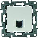Legrand Niloe LEG96621 Niloe - Base para conector RJ45, color blanco