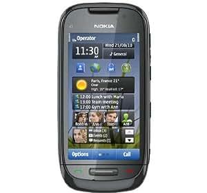 Nokia C7-00 (Charcoal Black)