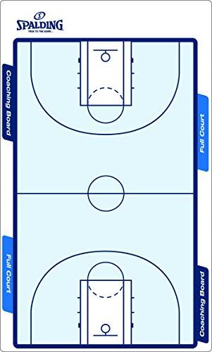 Spalding Uni Taktik Tafel Spalding, weiß/blau, 300157403 (Coach-board Basketball)